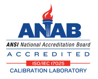Alliance Calibration ANAB accredited