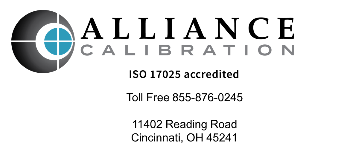 alliance calibration contact information