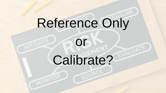 reference only or calibrate_alliance calibration